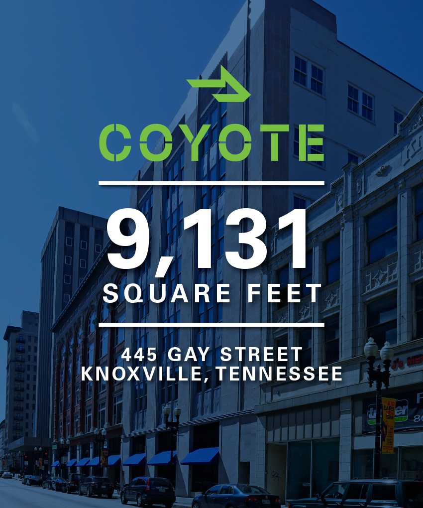 MB Real Estate & Coyote Logistics - Knoxville